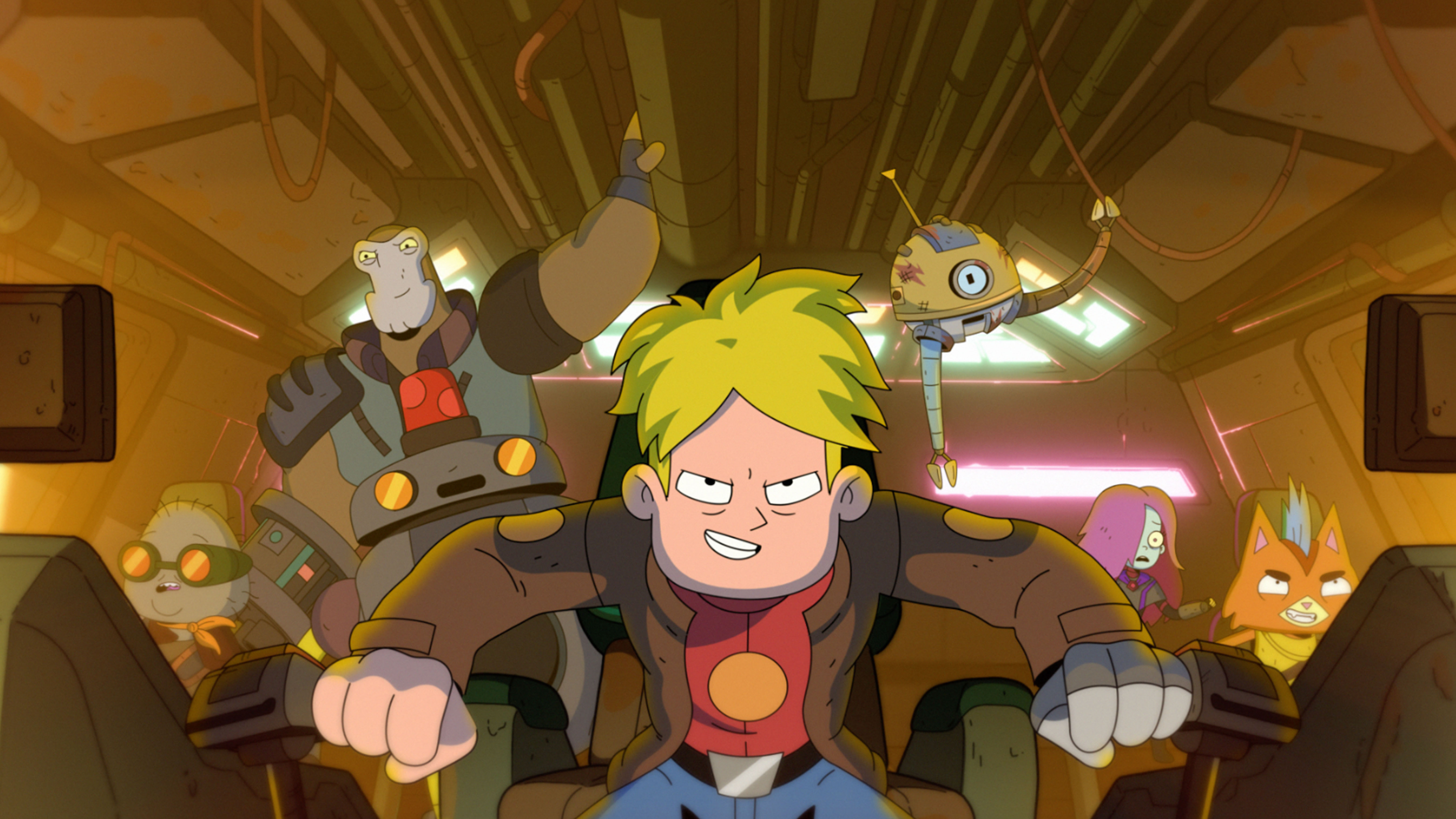 Final Space S2 airs on Mondays at 11:30pm E/P