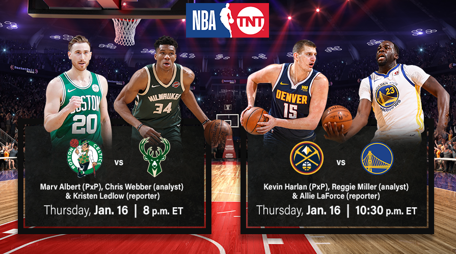 NBA on TNT's Upcoming Doubleheader Coverage