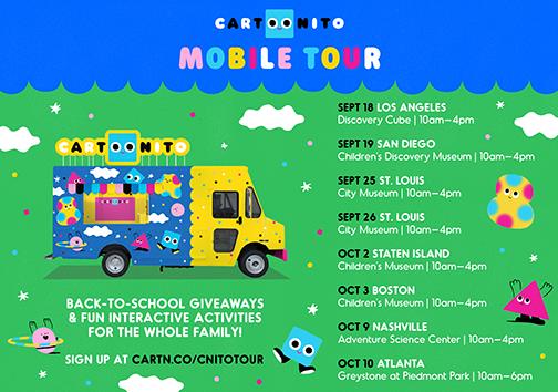CARTOONITO MOBILE TOUR IMAGE