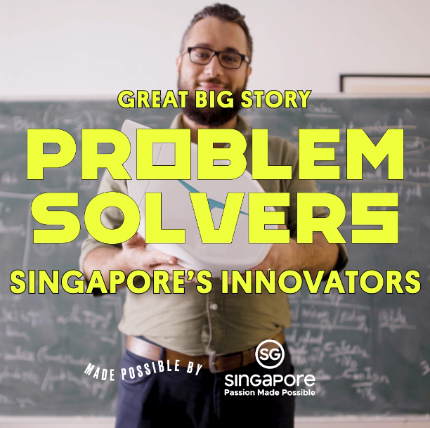 Great Big Story celebrates the innovative spirit of Singapore's Problem Solvers