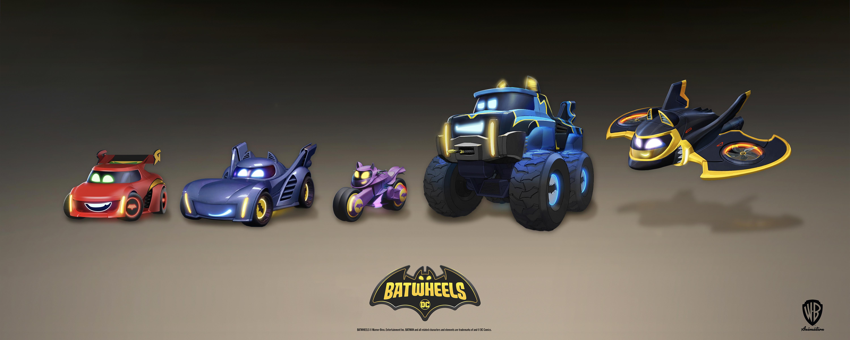 Batwheels Car Image - Cast Announcement