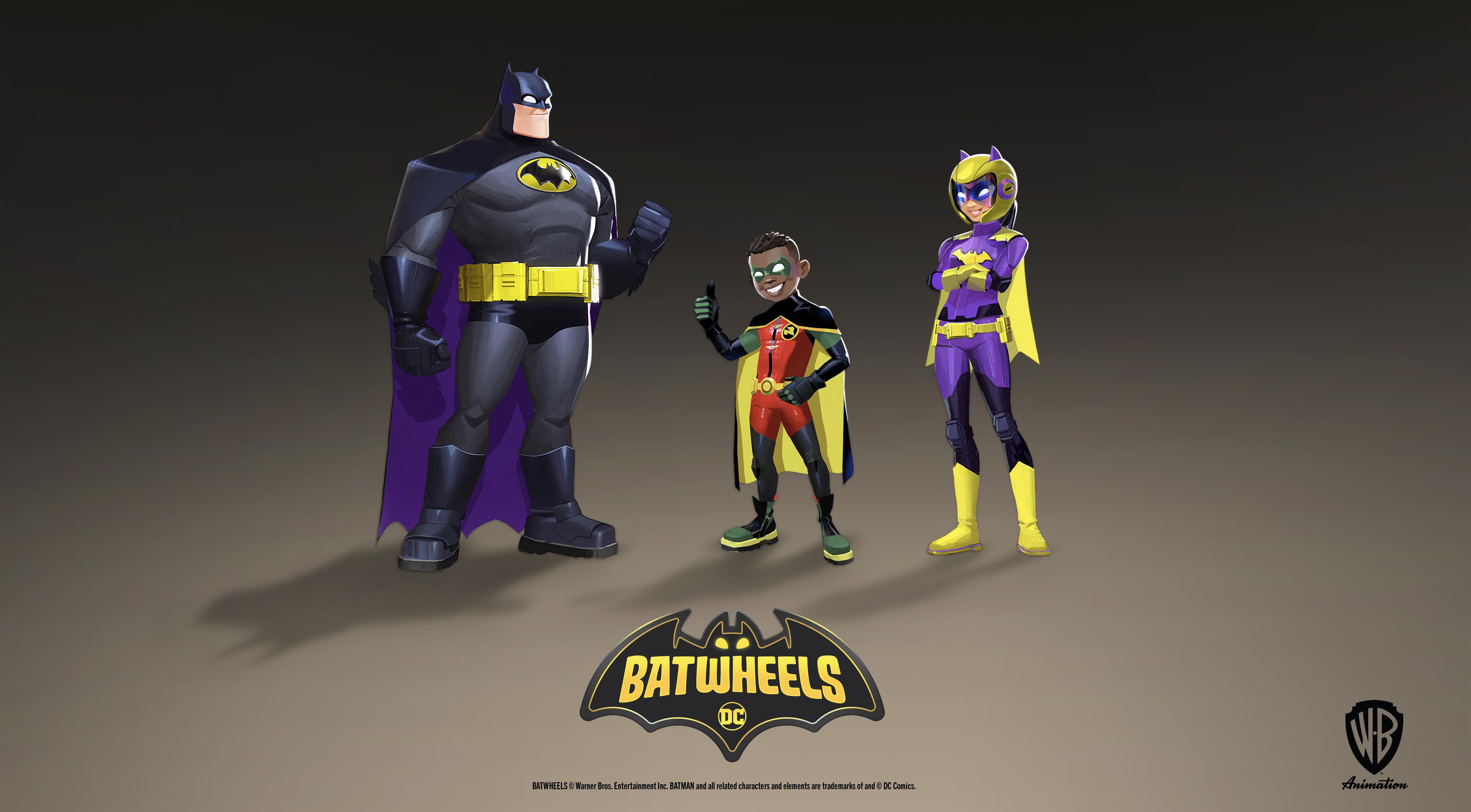 Batwheels Cast Announcement Art