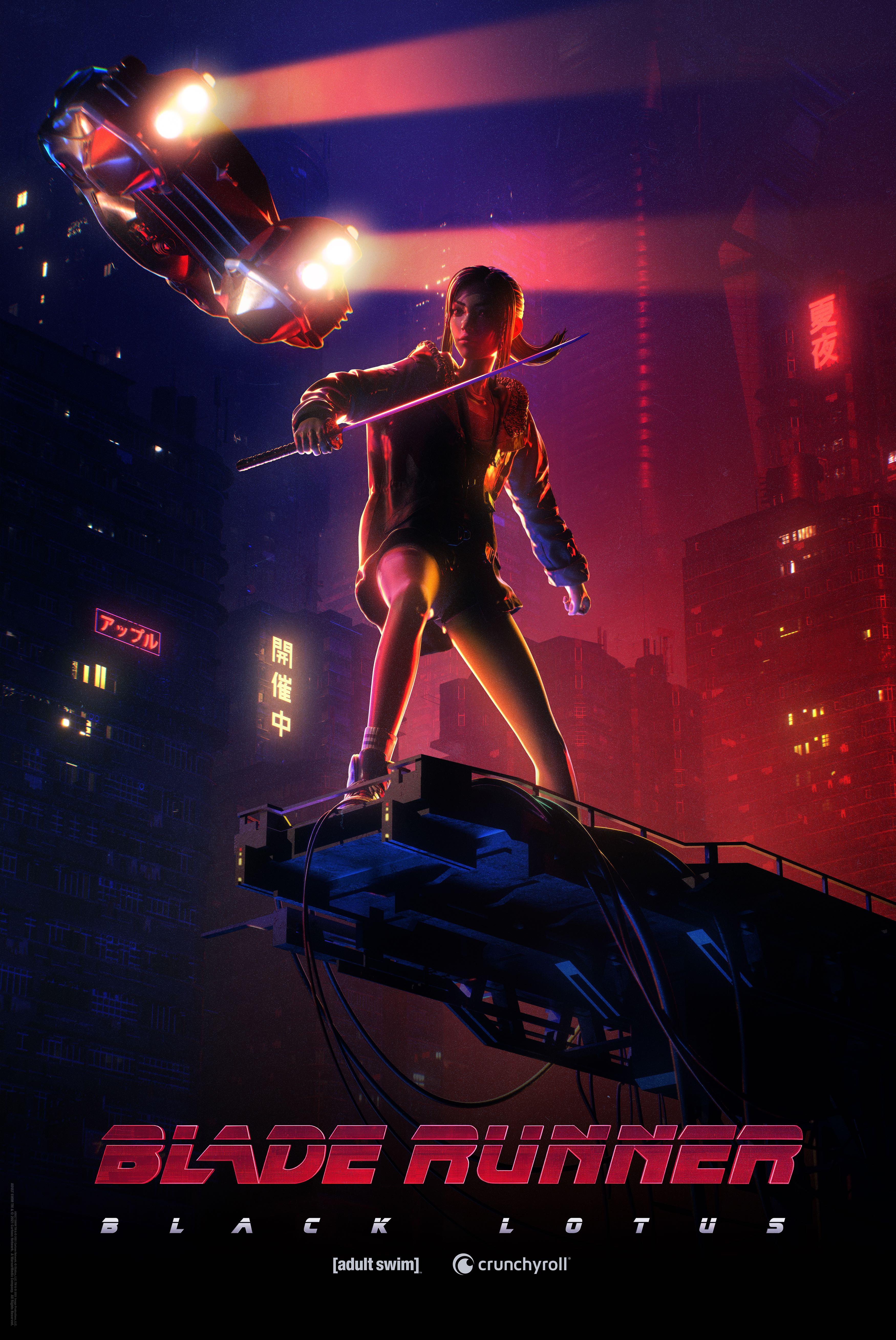 Blade Runner: Black Lotus NYCC Key Art
