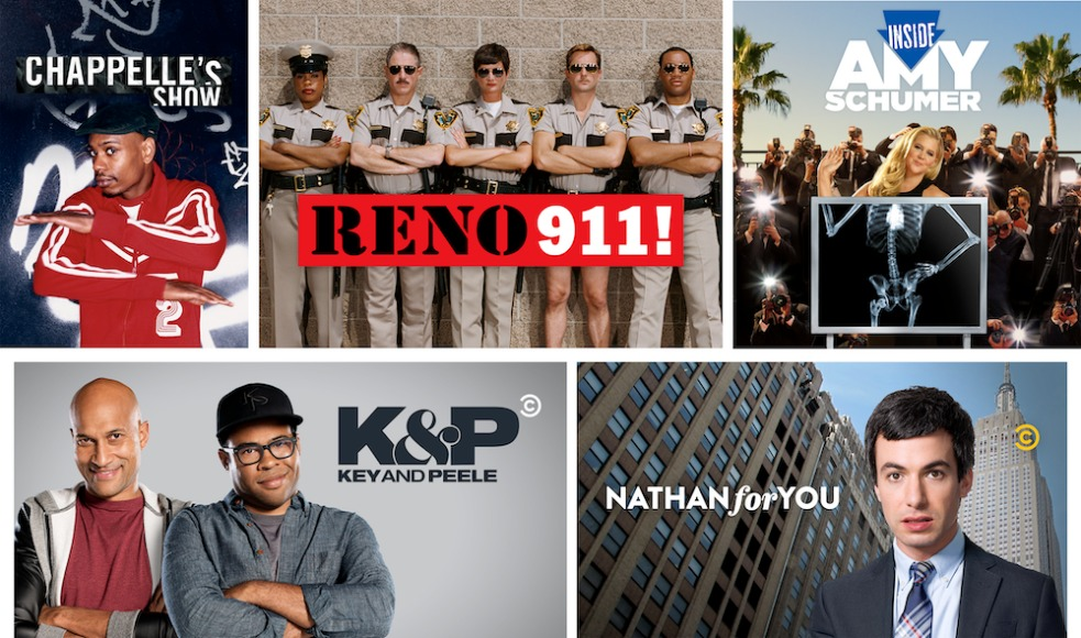 chappelle s show inside amy schumer key peele nathan for you and reno 911 available for streaming november 1 on hbo max as part of non exclusive licensing deal with comedy central pressroom chappelle s show inside amy schumer