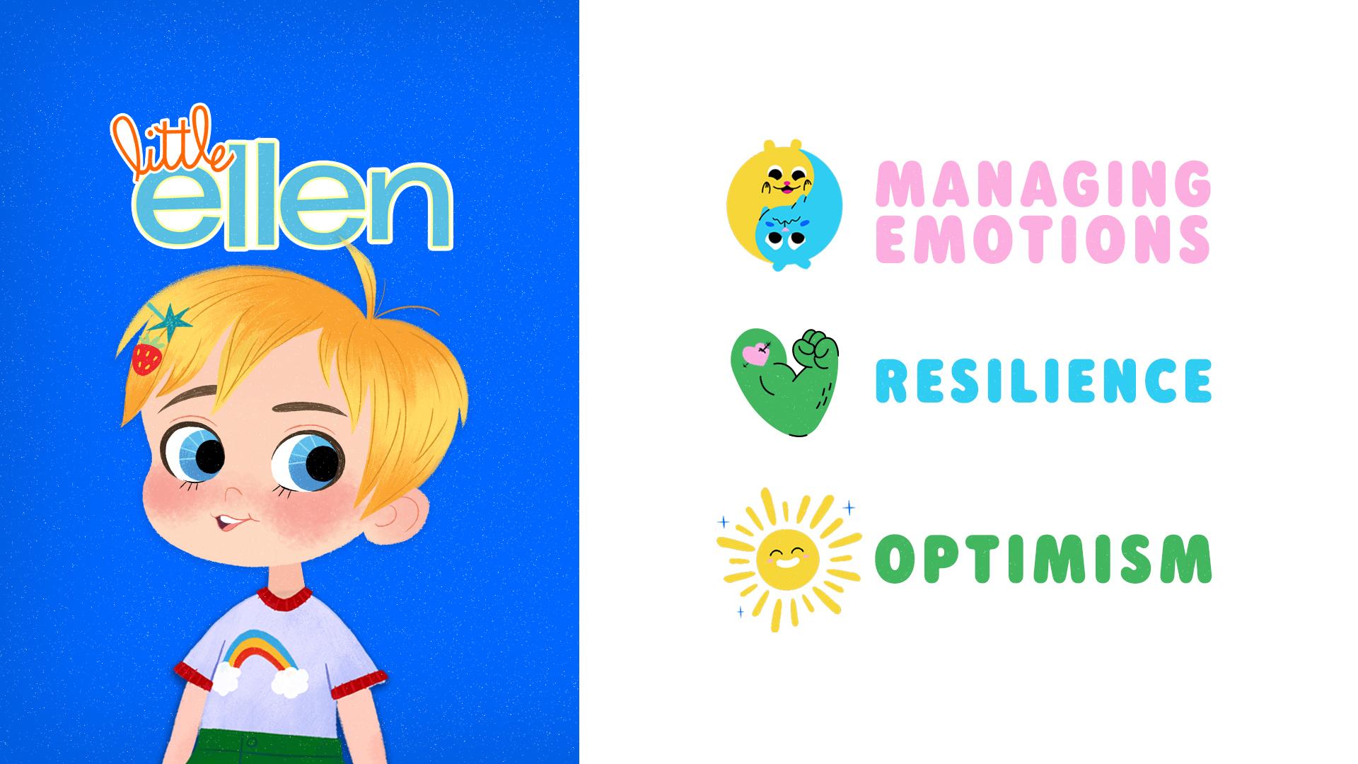 Little Ellen Learning Badge Example