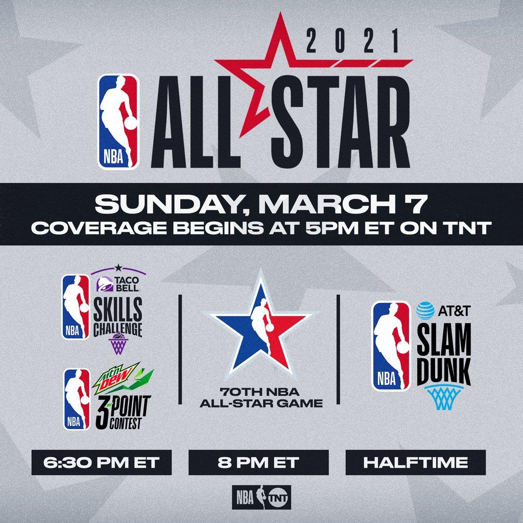 NBA All Star Lineup on TNT