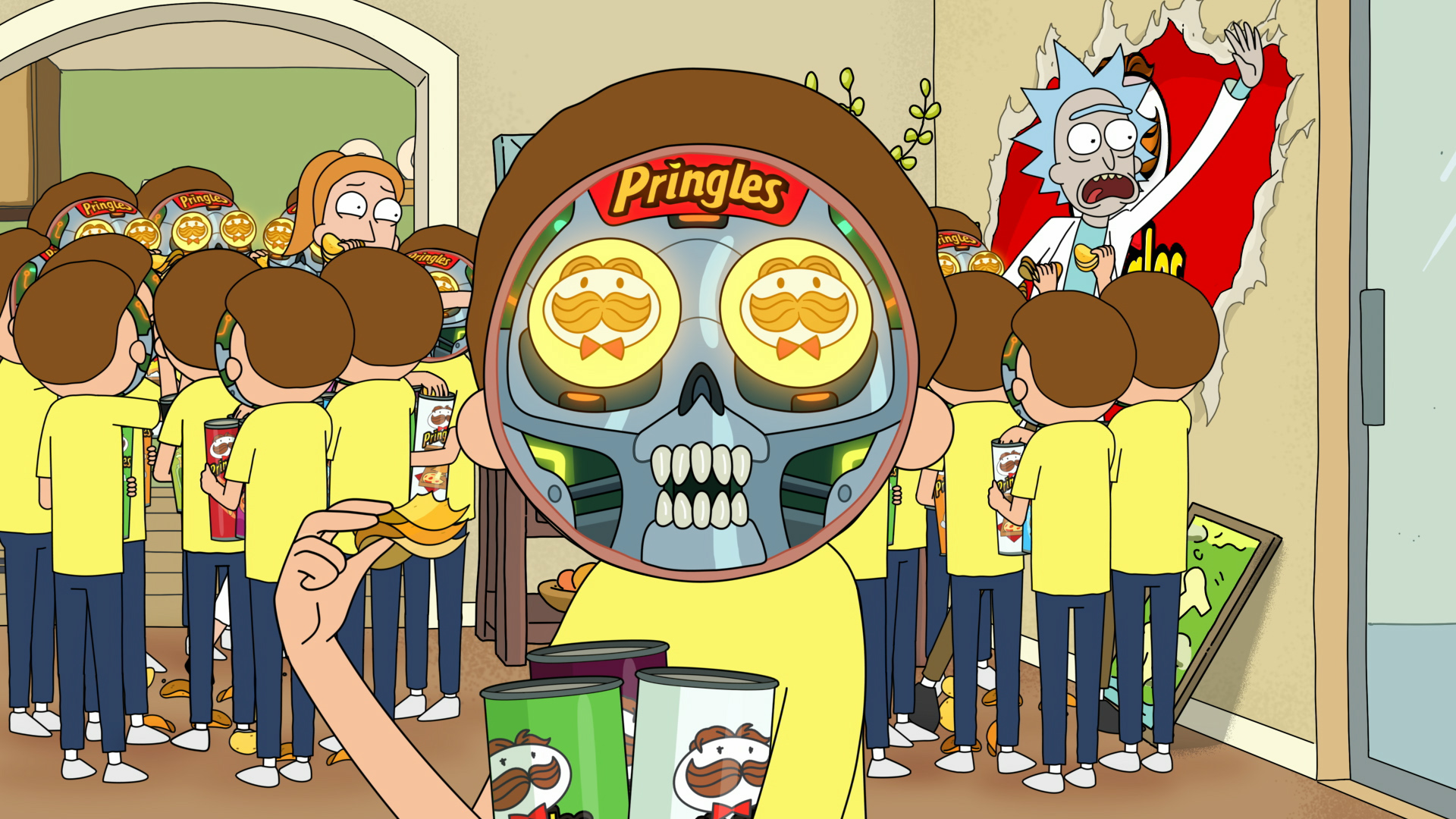 Adult Swim and Pringles Super Bowl Commercial