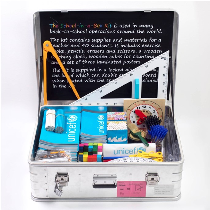 School-in-a-box kit