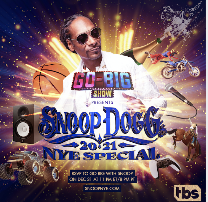 """Go-Big Show"" Presents Snoop's Virtual New Year's Eve Special"