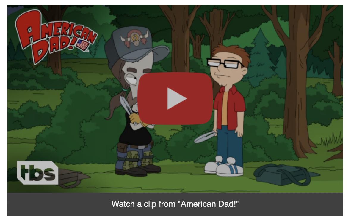 American Dad! Clip