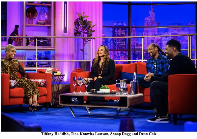Tiffany Haddish, Tina Knowles Lawson, Snoop Dogg and Deon Cole