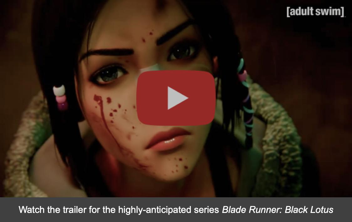 Blade Runner: Black Lotus NYCC Trailer Thumbnail