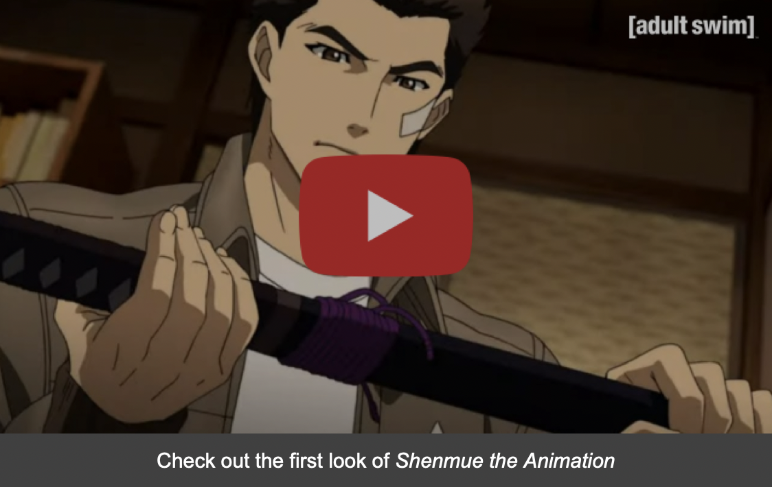 Shenmue the Animation NYCC First Look Thumbnail