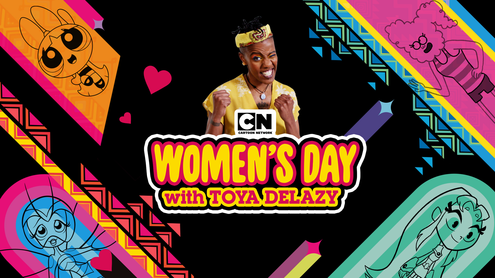 GIRL POWER with TOYA and CARTOON NETWORK