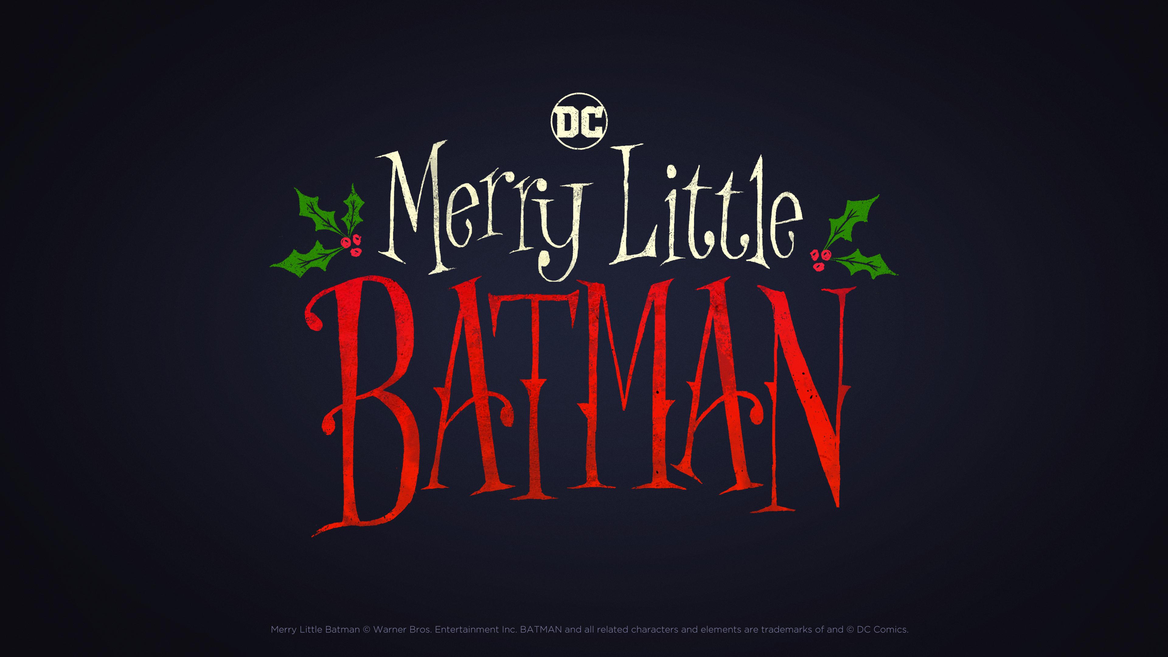 Merry Little Batman Image