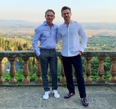 Brad and Gary