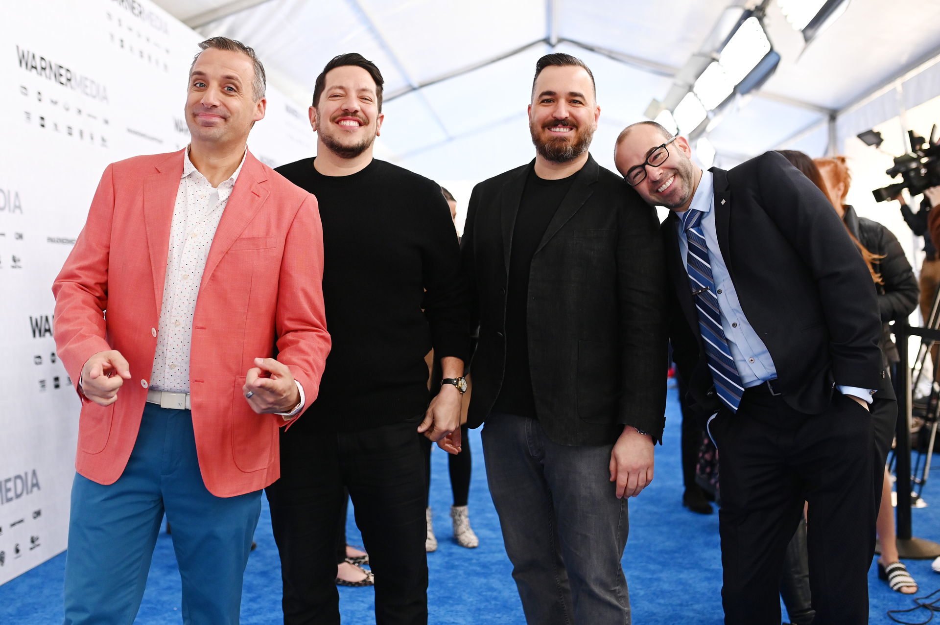 Joe Gatto, Sal Vulcano, Brian Quinn and James Murray