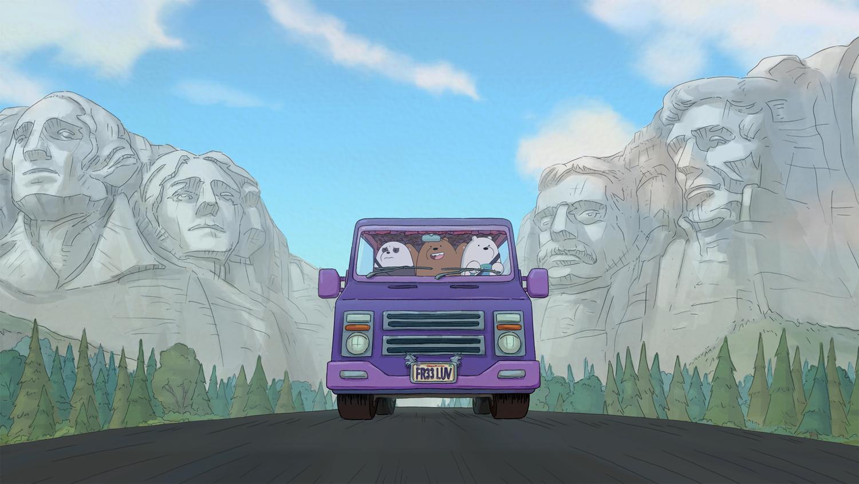 Filmreifer Roadtrip: We Bare Bears: Der Film am 21. November bei Cartoon Network