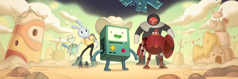 Galaktisches Abenteuer mit Adventure Time: Ferne Länder BMO, das erste von vier Specials, am 12. Dezember bei Cartoon Network