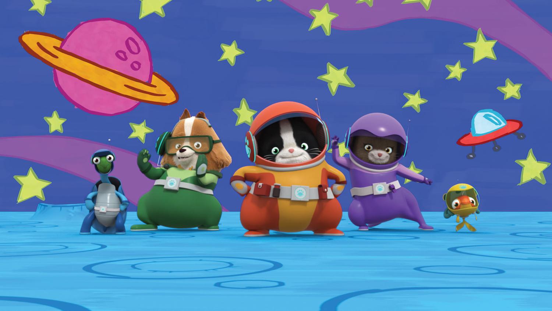Tanz und Sing mit Barky! Der Boomerang Spielplatz täglich bei Boomerang