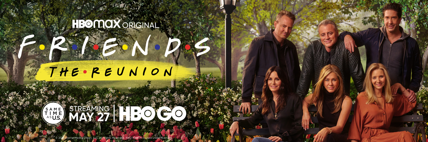 Friends: The Reunion on HBO GO And HBO In SEA, Taiwan & Hong Kong