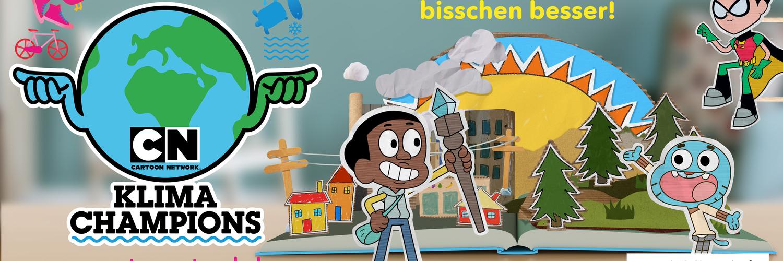 Mit Cartoon Network zum Klima-Champion werden!