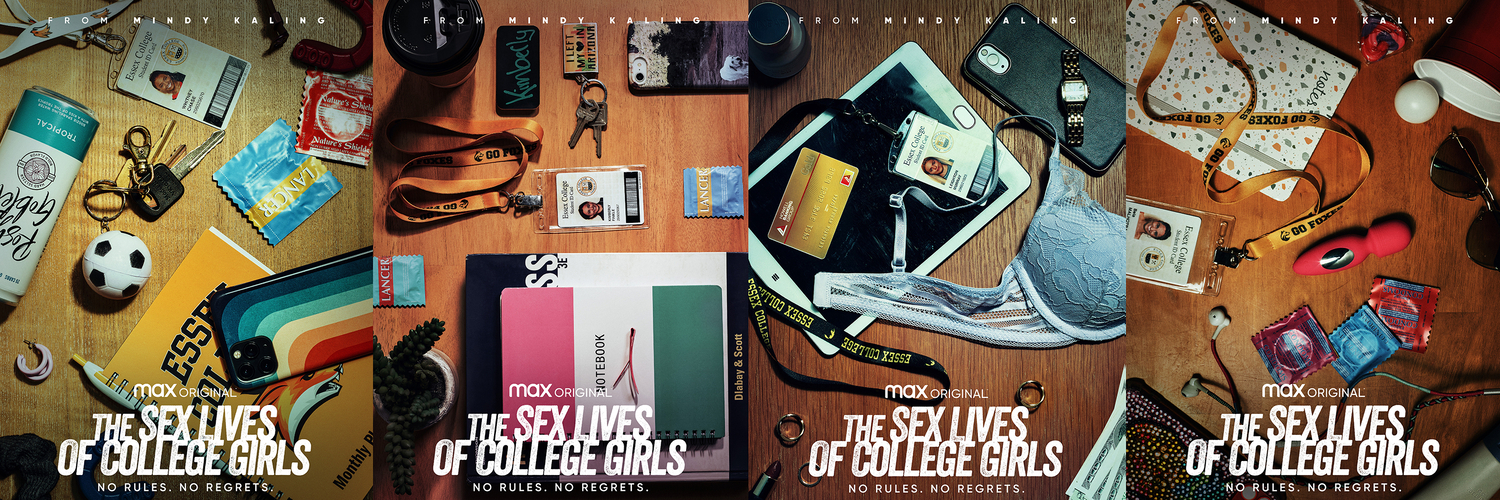 Max Original Comedy THE SEX LIVES OF COLLEGE GIRLS Debuts November 18