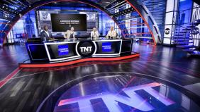The NBA on TNT set
