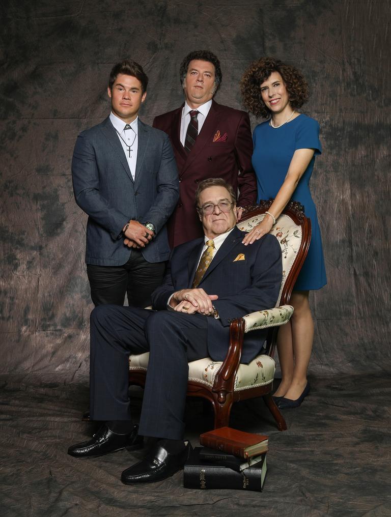Adam Devine, Danny McBride, Edi Patterson, and John Goodman