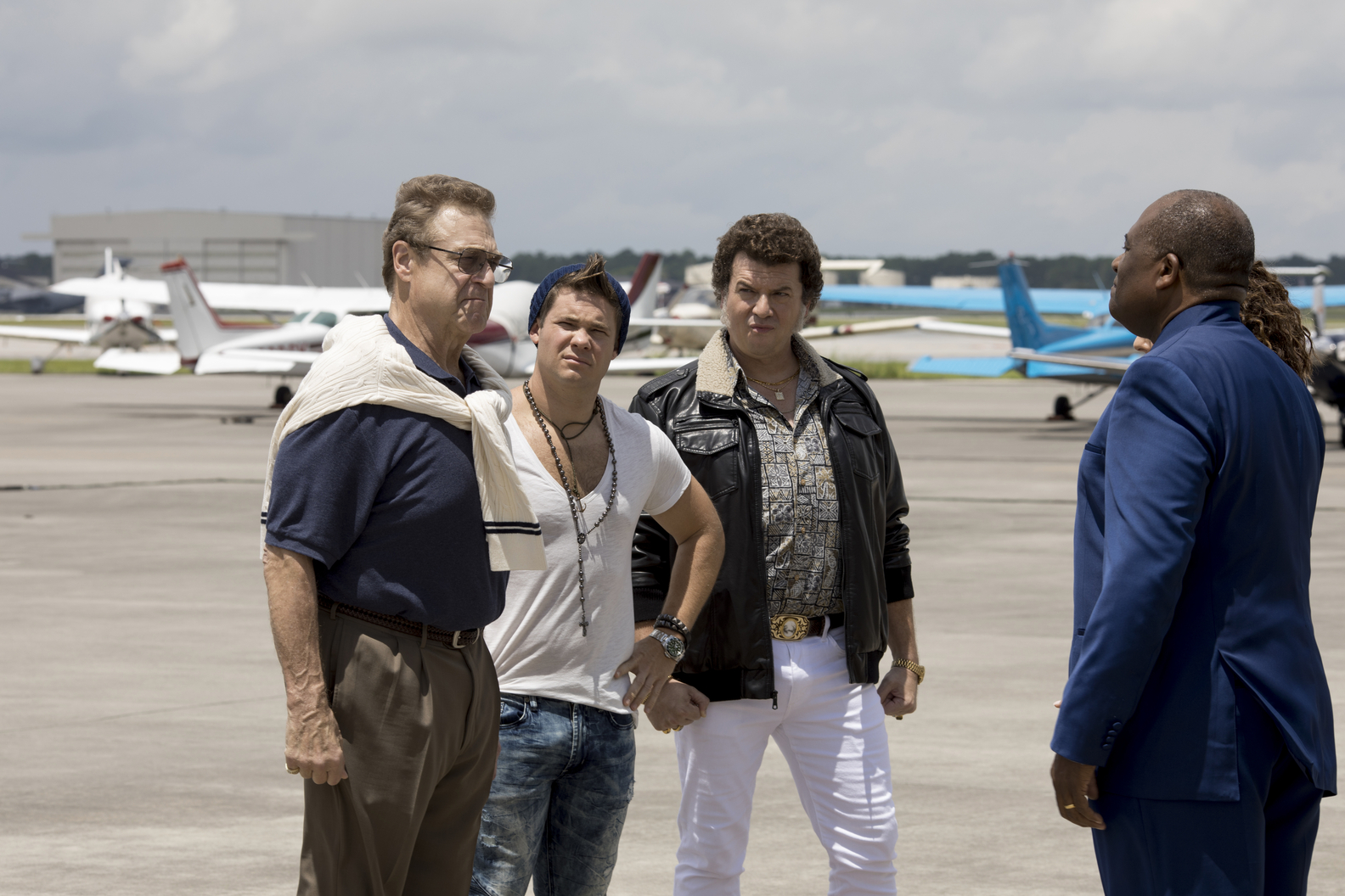 John Goodman, Adam DeVine, Danny McBride, and Greg Williams
