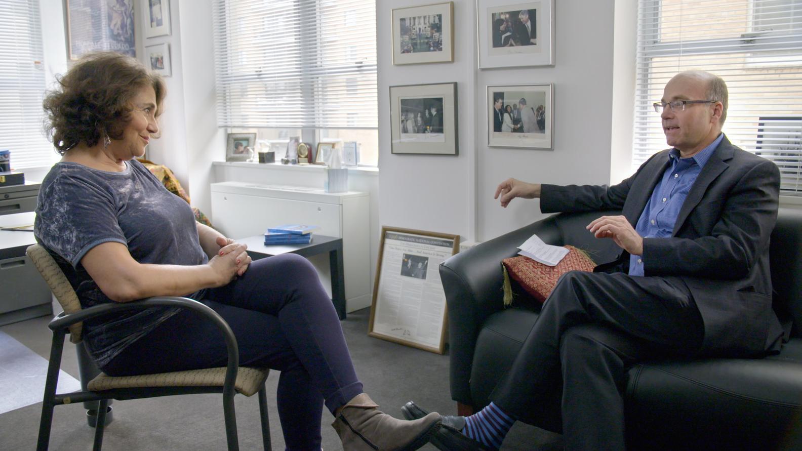 Brookings Institution expert Elaine Kamarck, Axios Co-Founder Mike Allen
