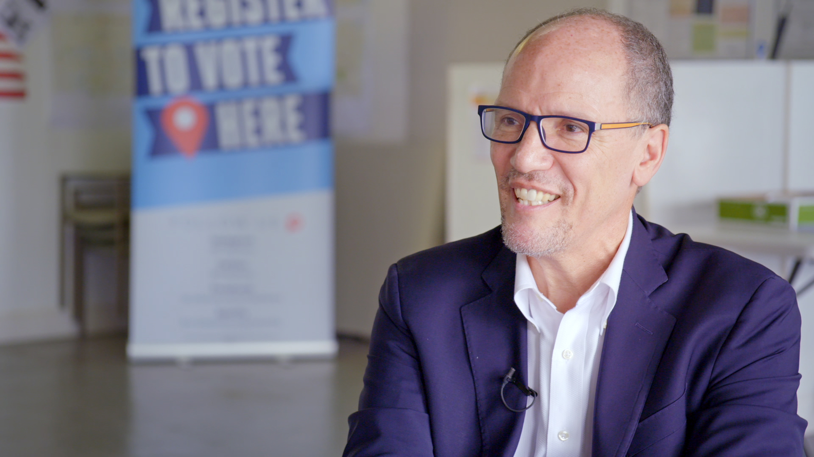 Tom Perez, Chair of the Democratic National Committee