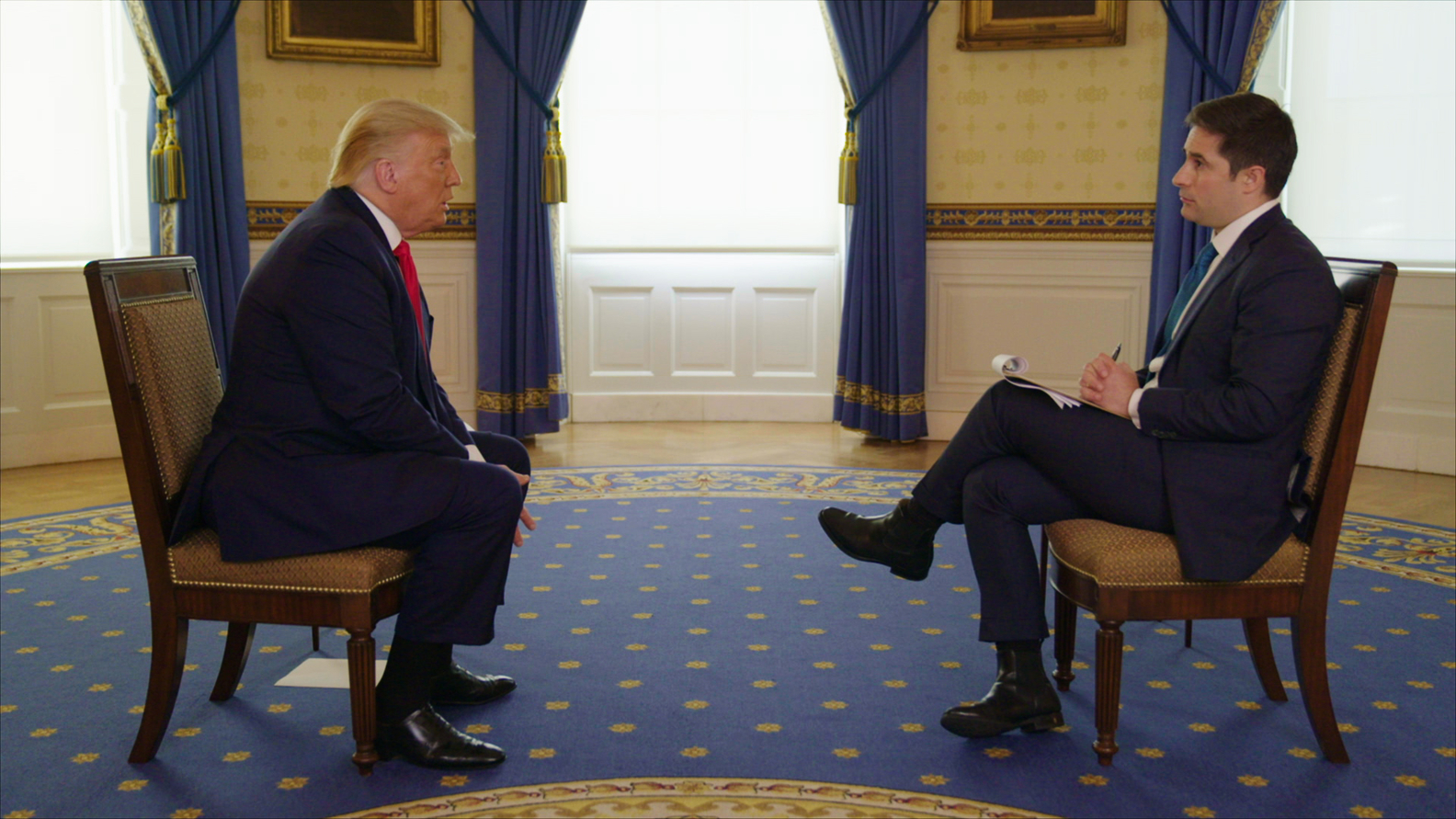 President Trump, Jonathan Swan