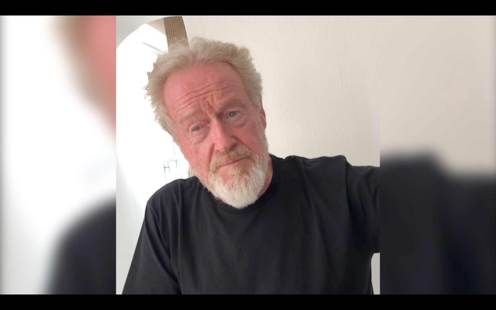 Ridley Scott at the Raised by Wolves Virtual Premiere