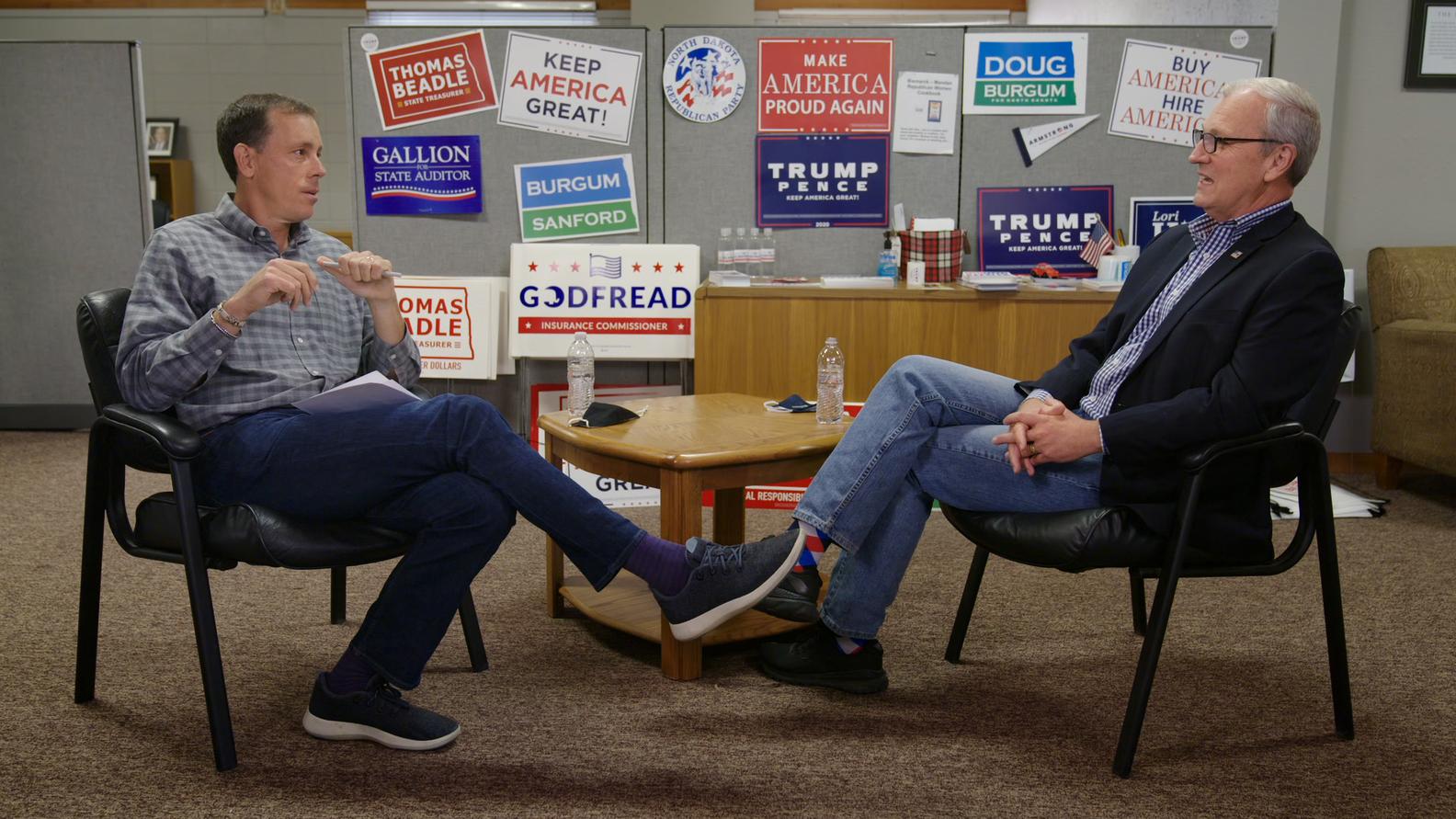 Axios Co-Founder and CEO Jim VandeHei, Senator Kevin Cramer (R-ND)