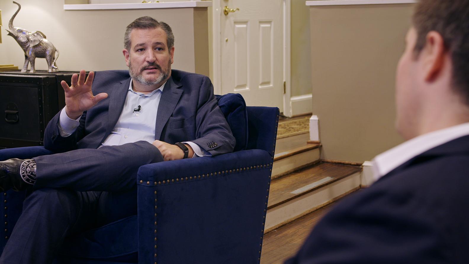 Senator Ted Cruz (R-TX), Axios National Political correspondent Jonathan Swan