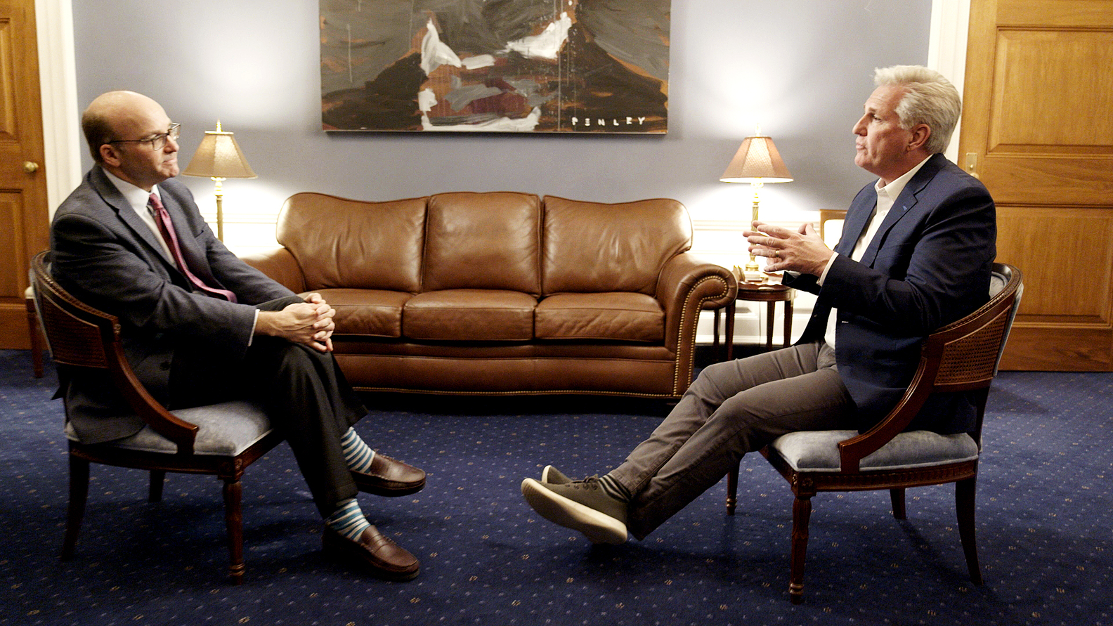 Axios Co-Founder Mike Allen, House Minority Leader Kevin McCarthy (R-CA)