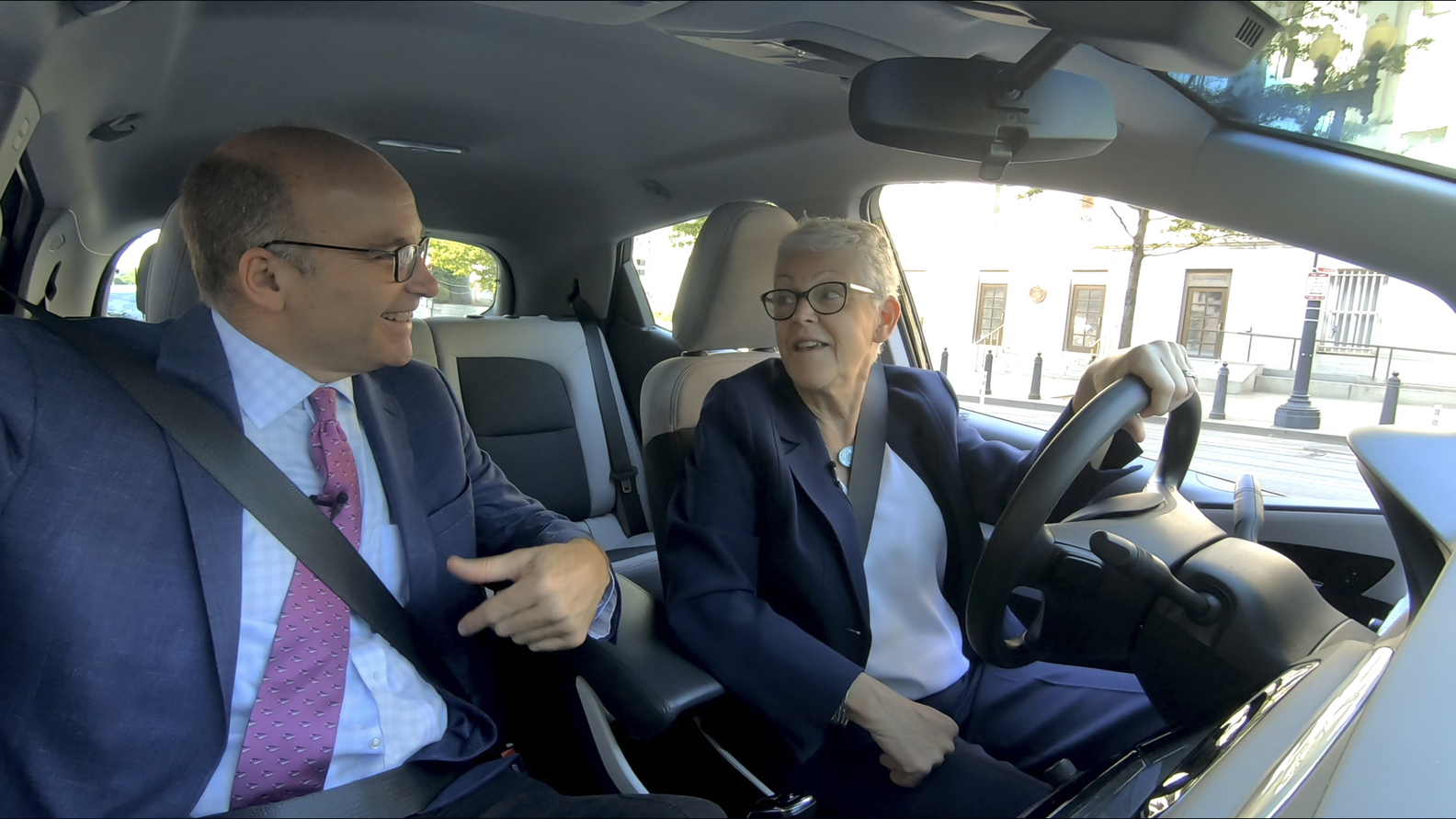 Axios Co-Founder Mike Allen, Gina McCarthy, White House National Climate Advisor