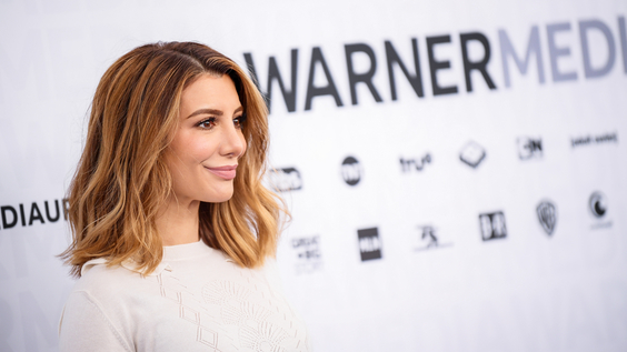 Nasim Pedrad of TBS's Chad on the red carpet at WarnerMedia Upfront 2019