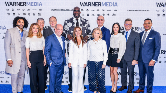 WarnerMedia Upfront Group Shot