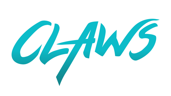 Claws title treatment