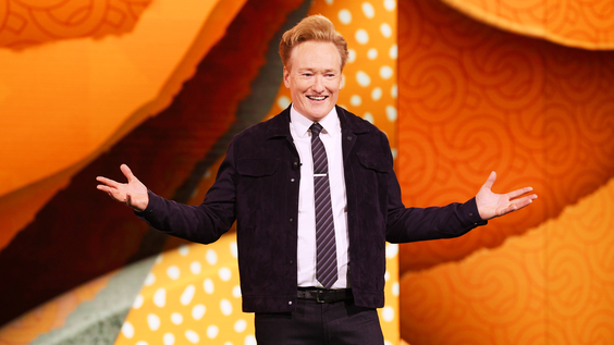 Conan O'Brien of TBS's CONAN at the WarnerMedia Upfront 2019 show at The Theater at Madison Square Garden on May 15, 2019 in New York City.