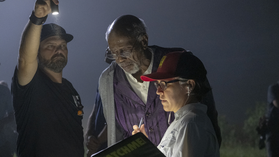 Watchmen behind the scenes