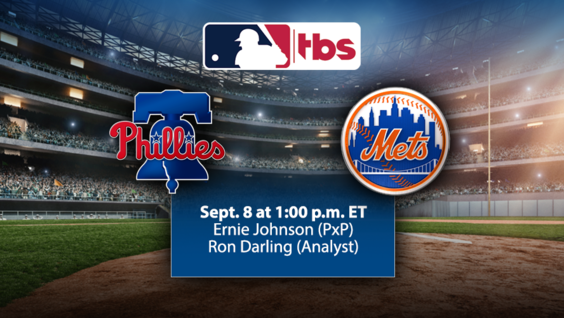 MLB on TBS to Highlight Back-to-Back NL East Match-Ups, Sept. 8 & 15