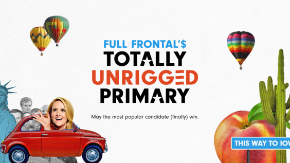Full Frontal'$ Totally Unrigged Primary game has launched in the app store!