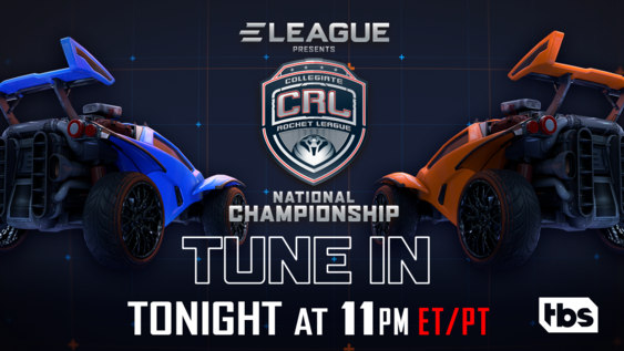 ELEAGUE to Feature Collegiate Rocket League, Dec. 6, at 11p ET on TBS