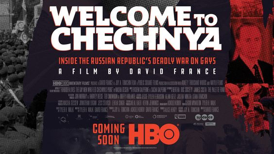 Welcome to Chechnya - Key Art