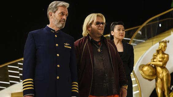 Hugh Laurie, Josh Gad, Suzy Nakamura