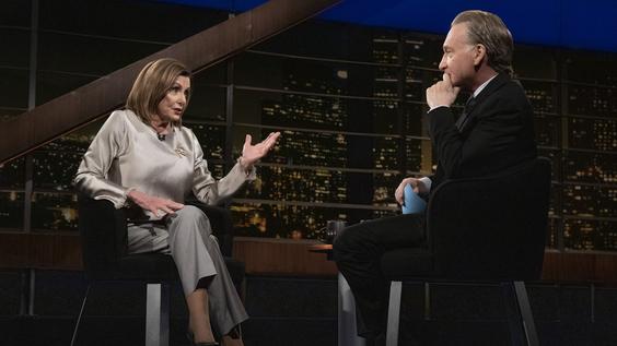 Nancy Pelosi, Bill Maher