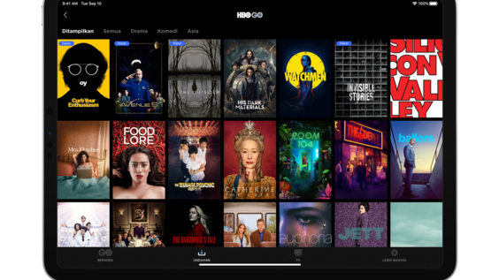 'HBO GO' AVAILABLE IN APP STORES IN INDONESIA WITH A 7-DAY FREE TRIAL